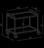 Transportný vozík NEREZ2061