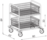 Transportný vozík NEREZ2600